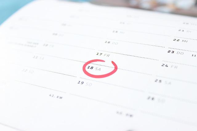 kalender. foto: pixabay